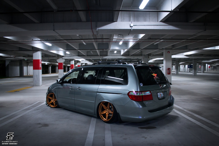 5 Slammed Odysseys That Might Change Your Opinion About Minivans