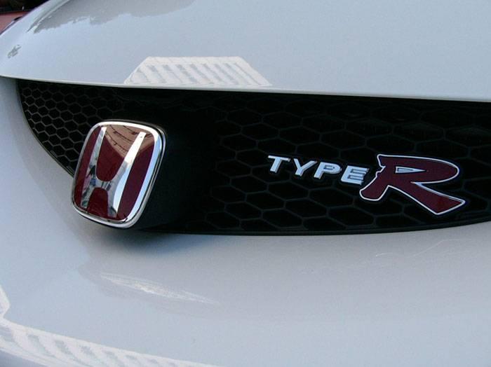 Honda JDM Honda Integra TypeR JDM TypeR Emblem Front - Acura rsx front emblem