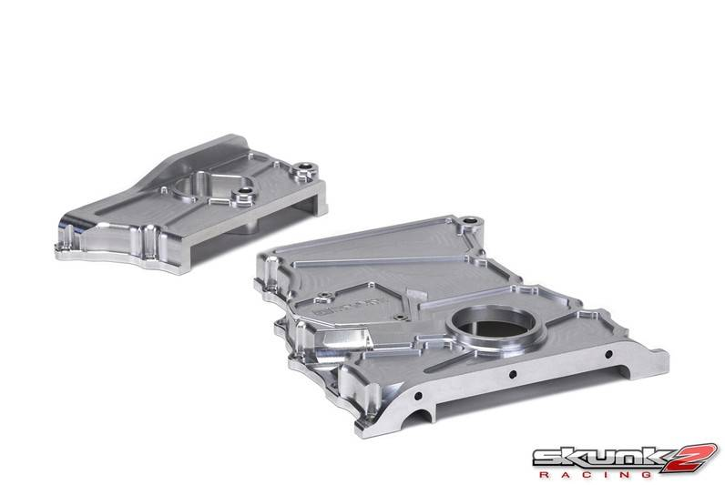 skunk2 2003 2008 acura tsx skunk2 timing chain cover clear anodized