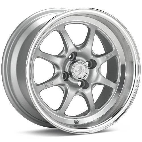 Enkei Enkei Classic Series Wheel J-Speed 15x8 4x100 - Silver