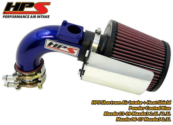 BLUE 2004-2009 MAZDA 3 2.0 2.0L 2.3 2.3L COLD AIR INTAKE KIT INDUCTION SYSTEMS
