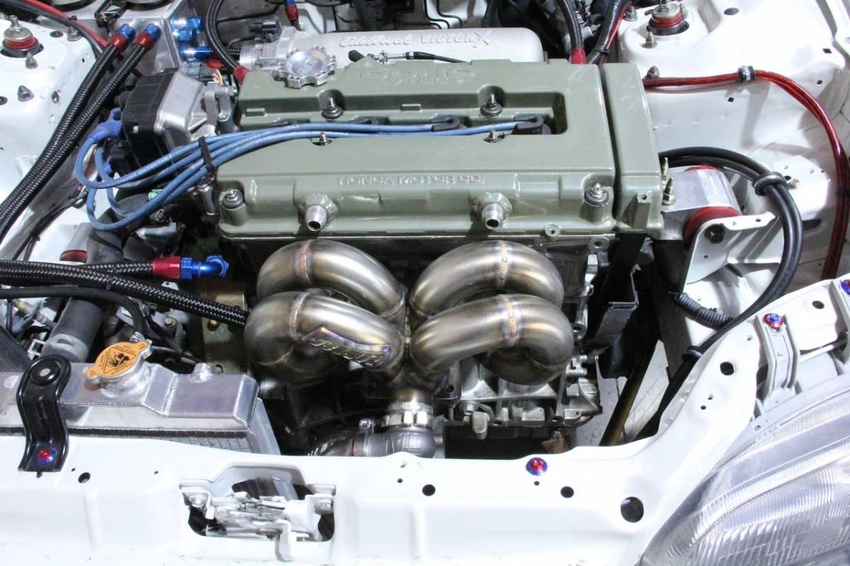 Blackworks Acura Integra BSeries Blackworks T Ram Horn - Acura integra turbo kit