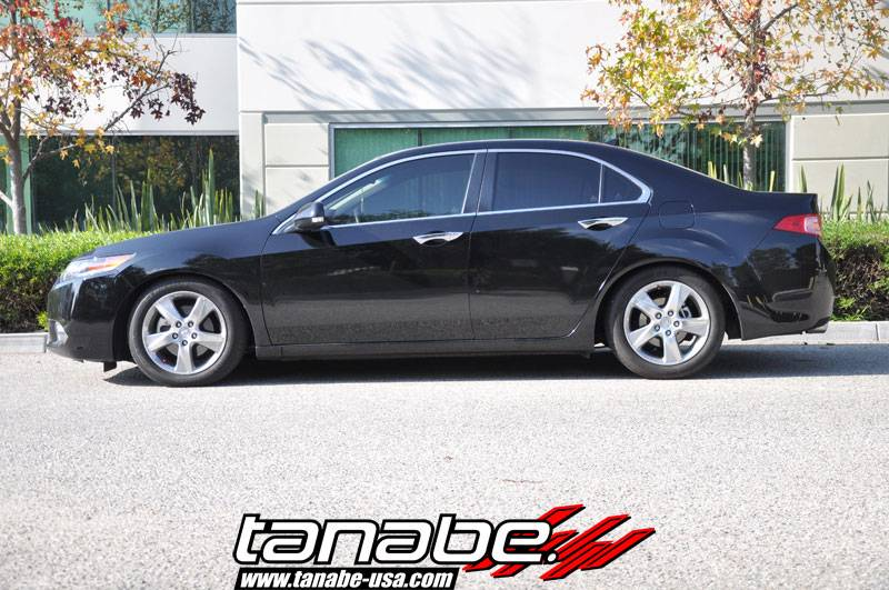Tanabe Acura TSX L Tanabe NF Max Comfort Lowering - Acura tsx lowering springs