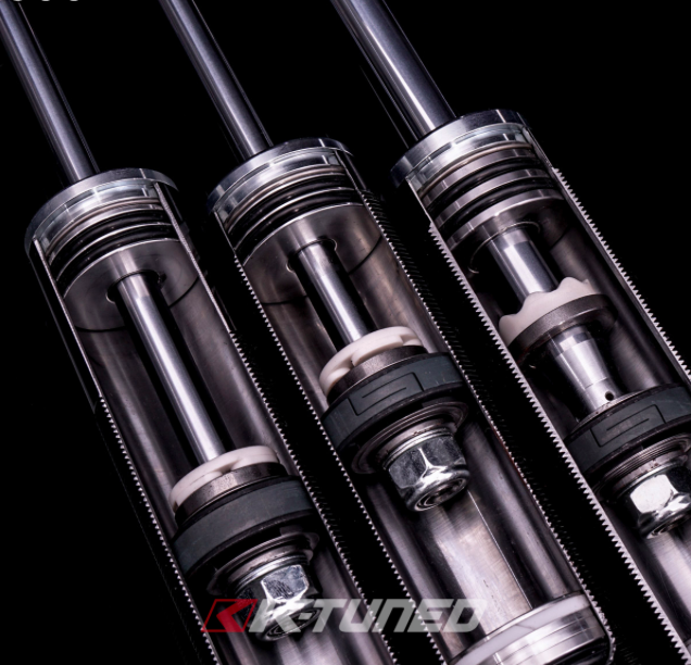 KTuned Acura TSX KTuned K Street Coilovers CorSport - 2006 acura tsx coilovers