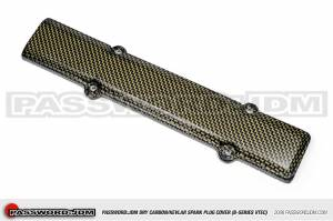 Password JDM - 1996-2000 Honda Civic B-Series Password:JDM Dry Carbon Kevlar Spark Plug Cover