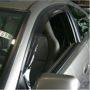 WeatherTech - 2002-2006 Acura RSX WeatherTech Side Window Deflectors (Dark)