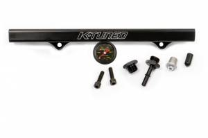 K-Tuned - K-Tuned K-Series Fuel Rail & Center Mount Gauge Kit (w/ EFI fittings)