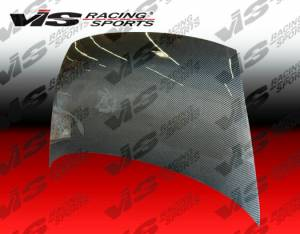 2006 2017 Honda Civic 4dr Vis Carbon Fiber Hood Oem Style
