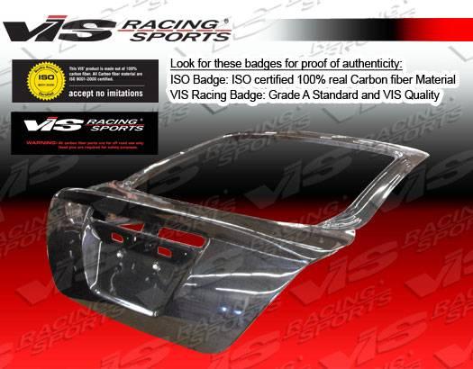 2005-2010 Scion tC VIS Carbon Fiber Hatch OEM Style