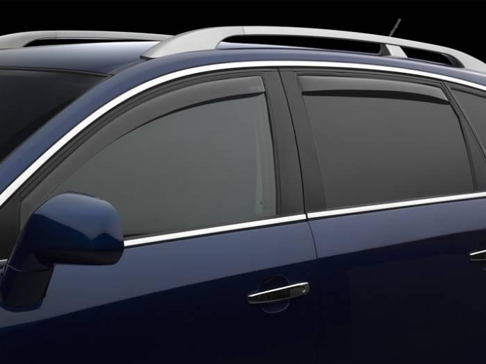 WeatherTech - 2006-2013 Lexus IS 350 WeatherTech Front and Rear Side Window Deflectors (Light)