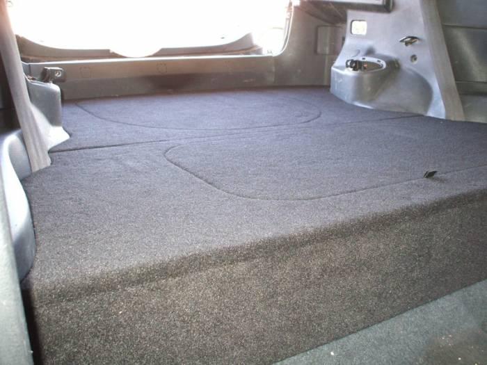 CorSport - 1992-1995 Honda Civic Hatchback CorSport Carpeted Rear Seat Delete