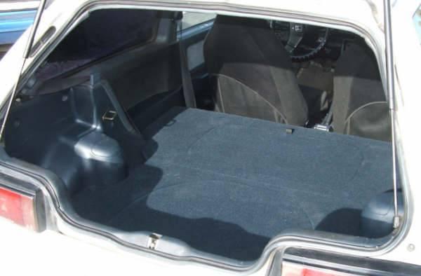 CorSport - 1988-1991 Honda Civic Hatchback CorSport Carpeted Rear Seat Delete