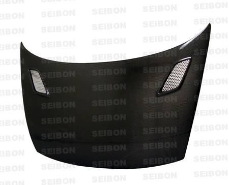 Seibon - 2006-2011 Honda Civic Coupe Seibon Carbon Fiber Hood Mugen