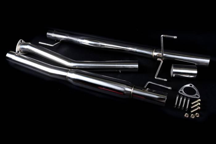 Buddy Club - 1988-1991 Honda CRX SiR Buddy Club Pro Spec II Exhaust
