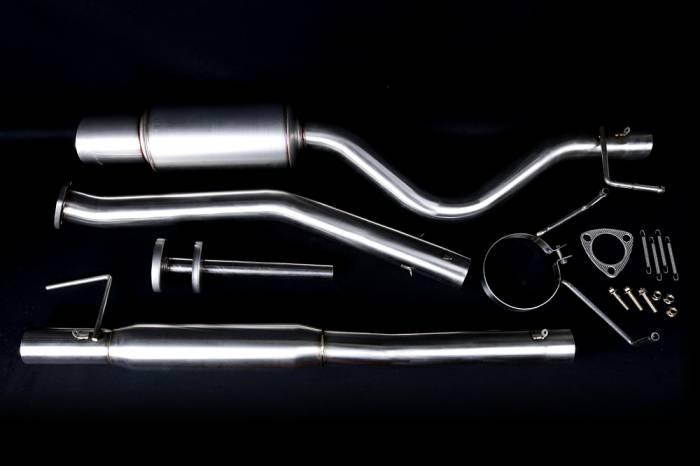 Buddy Club - 1992-1995 Honda Civic Buddy Club Pro Spec III Exhaust (H/B)