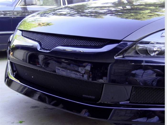 Grillcraft - 2003-2005 Honda Accord Coupe Grillcraft MX Series Upper Grille
