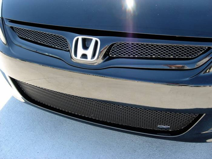 Grillcraft - 2006-2007 Honda Accord Coupe Grillcraft MX Series 2pc Upper Grille