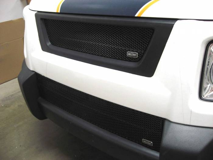 Grillcraft - 2003-2008 Honda Element Grillcraft MX Series Lower Grille