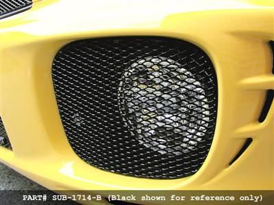 Grillcraft - 2002-2003 Subaru WRX Grillcraft MX Series Fog Lamp Grille