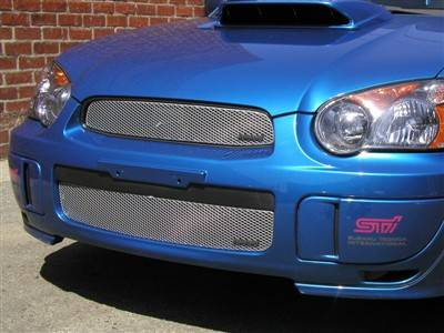 Grillcraft - 2004-2005 Subaru WRX and STI Grillcraft MX Series Upper Grille