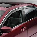 WeatherTech - 2003-2007 Honda Accord Sedan WeatherTech Front and Rear Side Window Deflectors (Light)