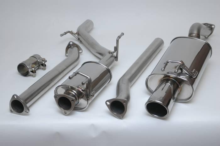 2006-2011 Honda Civic EX/LX/DX Vibrant Streetpower Catback Exhaust