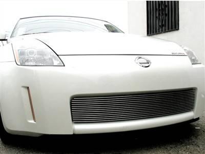 Grillcraft - 2003-2005 Nissan 350Z Grillcraft BG Series Grille Bumper Insert (Bolt-Over)