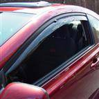WeatherTech - 2001-2005 Honda Civic Sedan Front and Rear WeatherTech Side Window Deflectors (Dark)
