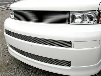 Grillcraft - 2005-2006 Scion xB Grillcraft BG Series Bumper Insert Mid & Lower Billet Grill