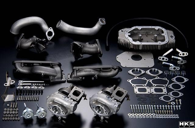 HKS - 2003-2005 Nissan 350Z HKS Nissan Twin Turbo Set-up Kit