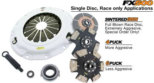 Clutch Masters - 1999-2000 Honda Civic Si ClutchMasters FX500 Race Only Clutch Stage 5