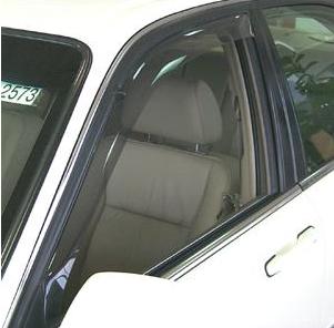 WeatherTech - 1996-2004 Acura RL WeatherTech Side Window Deflectors (Light)