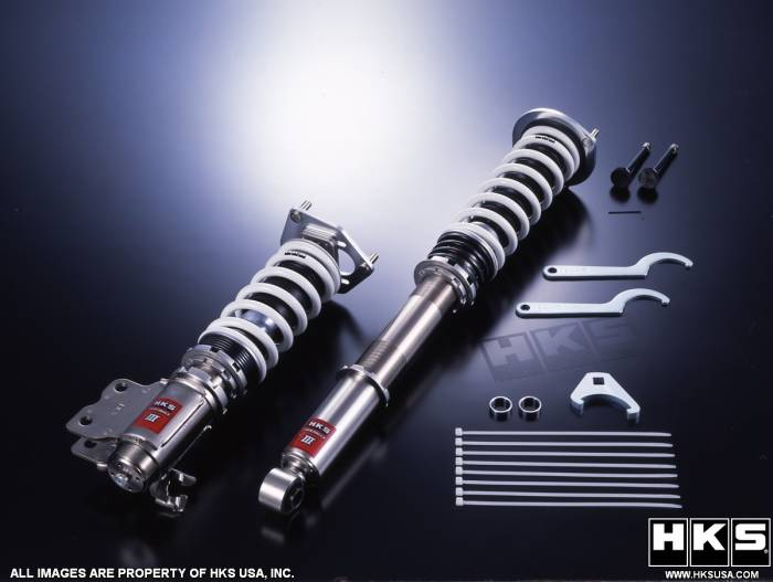 HKS - 2007-2008 Honda Fit HKS Hipermax III Suspension Kit