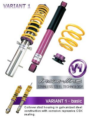 KW Automotive - 2003-2008 Nissan 350Z KW Coilover Variant 1