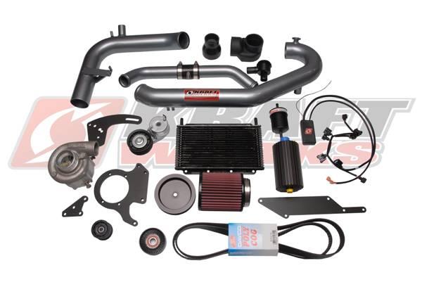 KraftWerks - 2007-2008 Honda Fit Kraftwerks Base Supercharger Kit (MT)