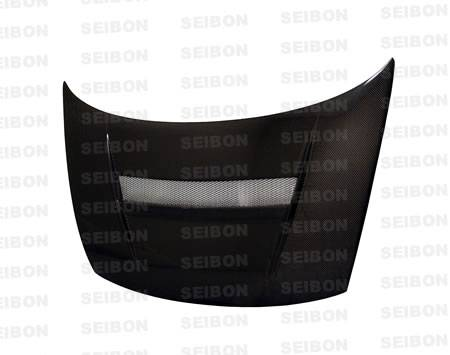 Seibon - 2006-2011 Honda Civic Coupe Seibon Carbon Fiber Hood VSII