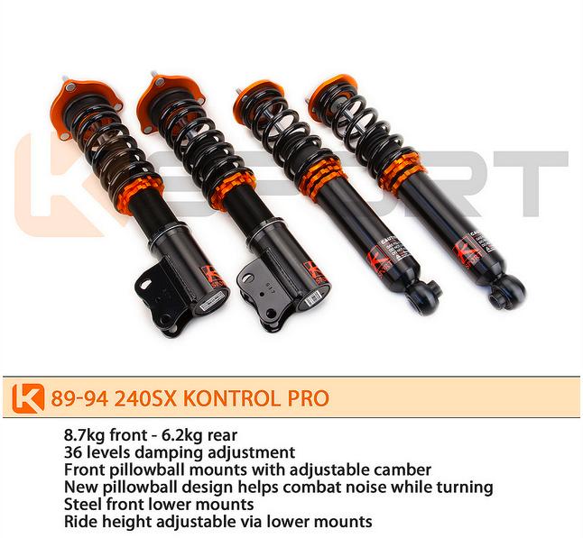 K Sport - 1989-1994 Nissan 240SX Ksport Kontrol Pro Damper System