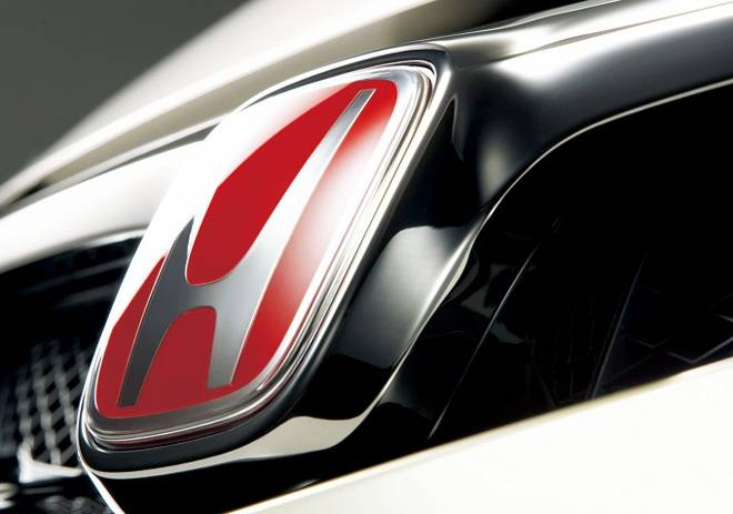 Honda (JDM) - 2006-2008 Honda Civic JDM Red H Badge (Front)