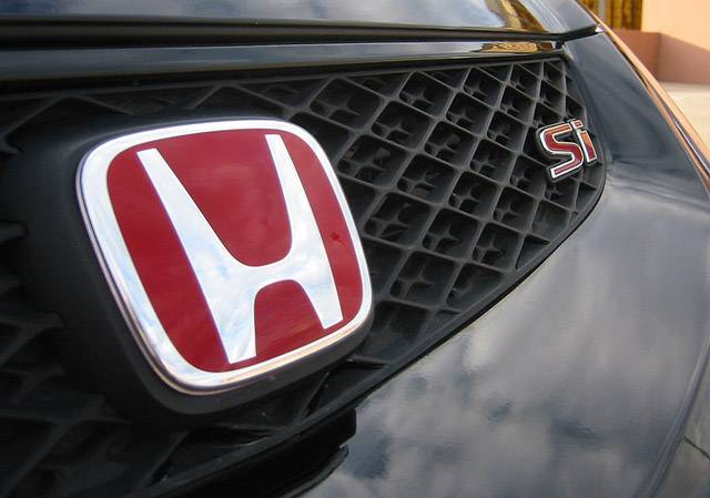 Honda Jdm 2002 2005 Honda Civic Type R Jdm Red H Badge