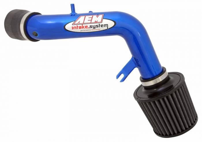 AEM - 2003-2007 Honda Accord AEM Short Ram Intake (4 cyl w/o MAF) - Blue