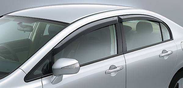 Honda (JDM) 2006-2011 Honda Civic Type-R Window Visors kit - CorSport 85189cb2e8f