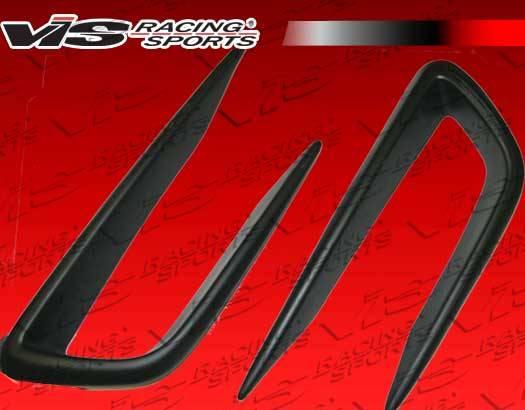2006-2011 Honda Civic JDM 4dr VIS JS Style Front Bumper Garnishes