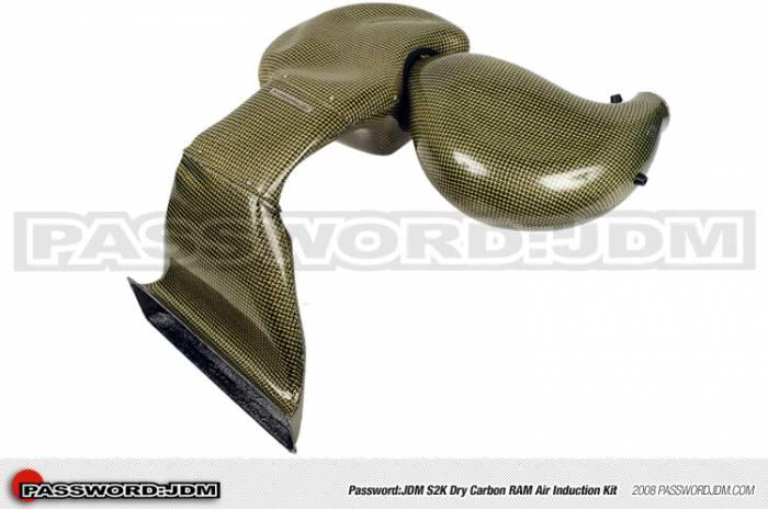Password JDM - 2000-2009 Honda S2000 Password:JDM Dry Carbon Kevlar Ram Air Induction Kit