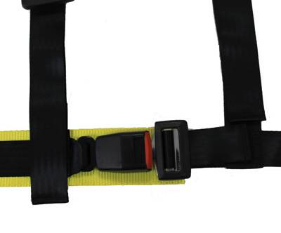 NRG Innovations - NRG Innovations 4 Point 2 inch Safety Harness - Black
