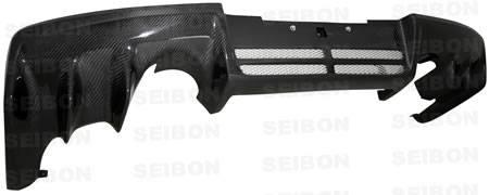 Seibon - 2008+ Mitsubishi Evolution X Seibon Carbon Fiber Rear Diffuser
