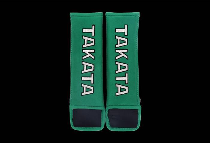 "Takata - Takata 3"" Sealt Belt Shoulder Pads - Green"