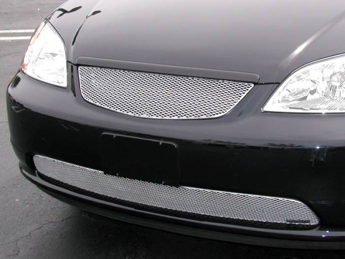 Grillcraft - 2001-2003 Honda Civic Grillcraft MX Series Lower Grille