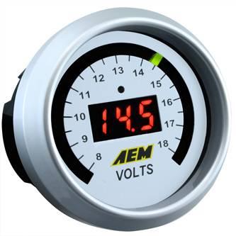 AEM - AEM Voltmeter Display Gauge