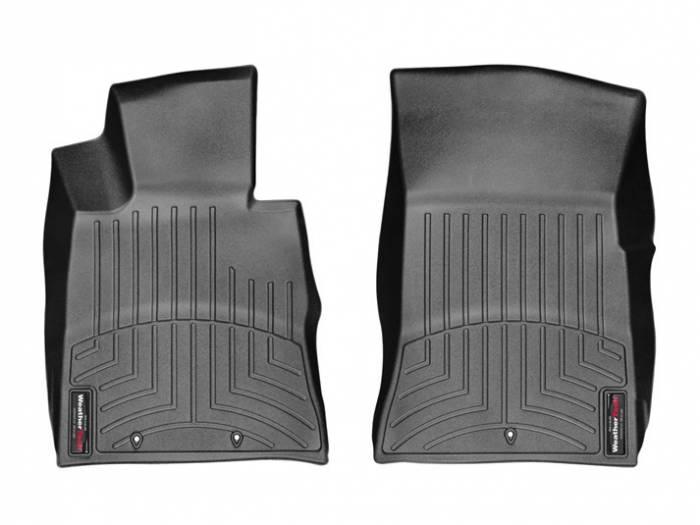 WeatherTech - 2013+ Hyundai Genesis Coupe WeatherTech FloorLiner DigitalFit - Black