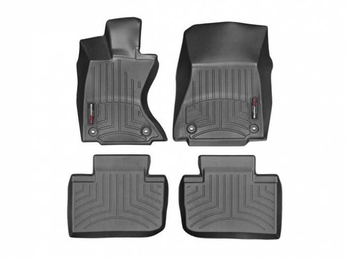WeatherTech - 2014+ Lexus IS 350 AWD WeatherTech FloorLiner DigitalFit - Black